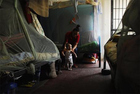 300 μητέρες μαζί με τα παιδιά τους ζούνε στις φυλακές του Ilopango στο Ελ Σαλβαδόρ