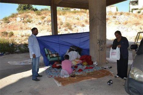 Δραματικές συνθήκες για μια οικογένεια που ζει σε ένα ... γιαπί στα Χανιά