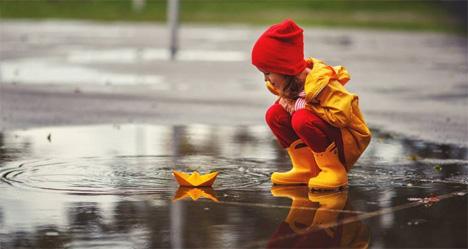 Μέσα από τα μάτια ενός παιδιού ο κόσμος μοιάζει με ανεξερεύνητη γη