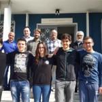 Η ελληνική αποστολή της μαθητικής ομάδας που θα συμμετέχει στην 11η Διεθνή Ολυμπιάδα Αστρονομίας – Αστροφυσικής. Φωτογραφία ΑΠΕ-ΜΠΕ
