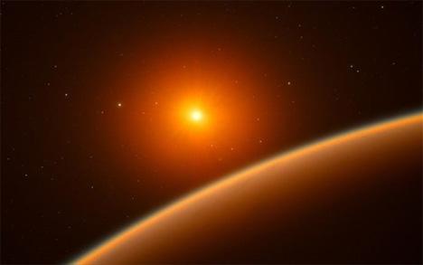 Ο εξωπλανήτης αυτός, με όνομα LHS 1140b, είναι μία «υπερ-Γαία» καθώς έχει μεγαλύτερες διαστάσεις από τη Γη, αλλά μικρότερες από τον Ποσειδώνα. Αν και έχουν βρεθεί αρκετά ανάλογα ουράνια σώματα μέχρι σήμερα, στην πλειονότητά τους οι συνθήκες δεν ευνοούν την ανάπτυξη μικροοργανισμών. Φωτο: EFE