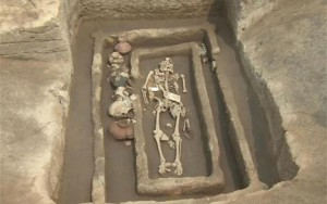 Οι άνδρες, των οποίων τα οστά ανακαλύφθηκαν στο χωριό Τζιαοτζιά, κοντά στην πόλη Τζινάν της επαρχίας Σαντόνγκ ήταν ψηλότεροι από τους σύγχρονούς τους.