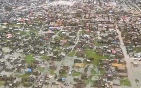 Η πόλη Μπέιρα -IFRC VIA REUTERS/SOCIAL MEDIA