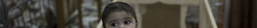 Κοριτσάκια σε ορφανοτροφείο της Βαγδάτης, που φιλοξενεί παιδιά Ιρακινών και μαχητών του Ισλαμικού Κράτους AP Photo/Maya Alleruzzo, File