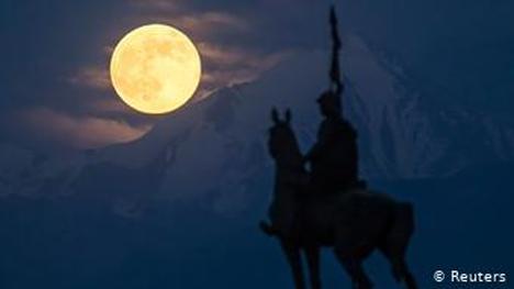 Η οροσειρά Τιεν Σαν στο Καζακστάν