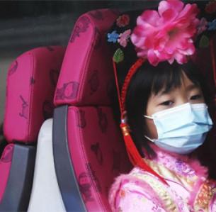 Πρωτοχρονιά στην Κίνα μεν, μέτρα προστασία για τον ιό δε  AP Photo/Achmad Ibrahim