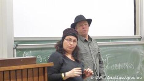 Με τη δημοσιογράφο Ανζελίκ Κουρούνη στην παρουσίαση του ντοκιμαντέρ «Xρυσή Αυγή: Προσωπική Υπόθεση» στην Κολωνία