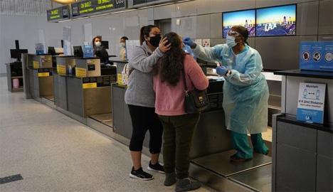 Rapid test στο Διεθνές Αεροδρόμιο του Λος Άντζελες  AP