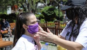 Παιδί με μάσκα κατά του κορονοϊού  @ 2021 BURHAN OZBILICI / AP IMAGES