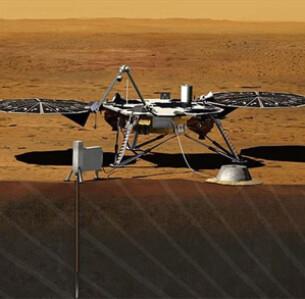 To InSight παρακολουθεί και καταγράφει την τεκτονική δραστηριότητα του Άρη. - Photo NASA